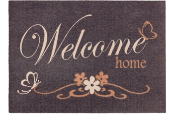 Astra Fussmatte Cardea Welcome home grau 50x70