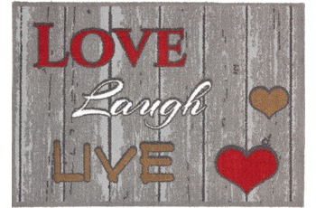 Astra Fussmatte Casadoor Love laugh 50x70