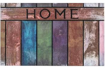 Astra Fussmatte Eco Fashion Holz Home bunt 45x75