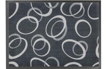 Astra Fussmatte Homelike Kreise grau 50x70