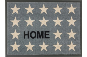 Astra Fussmatte Homelike Sterne Home grau 50x70