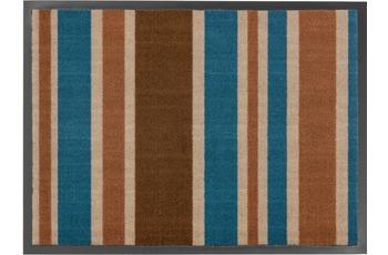 Astra Fussmatte Homelike Streifen blau 50x70