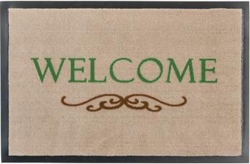 Astra Fussmatte Homelike Welcome Orn. beige 50x70
