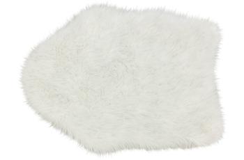 Astra Kunstfell Mia D. 181 C. 000 weiß Lurex 55x80 cm shape