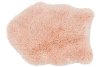 Astra Kunstfell Mia D. 181 C. 015 pink Lurex 55x80 cm shape