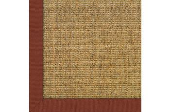 Astra Sisalteppich Manaus 150 x 150 cm ohne ASTRAcare (Fleckenschutz) cognac Farbe 50