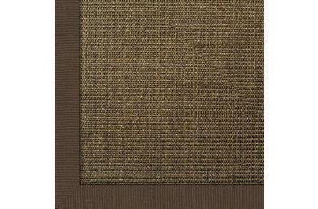Astra Sisalteppich Manaus 300 x 400 cm ohne ASTRAcare (Fleckenschutz) dunkelbraun Farbe 64