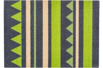 Astra Miabella Design 714, Colour 034 Streifen grau-grün 50 x 150 cm