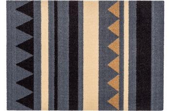 Astra Miabella Design 714, Colour 040 Streifen grau-braun 50 x 150 cm
