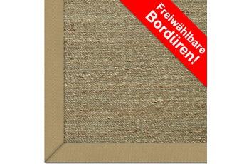 Astra Seegras-Teppich Rangoon Uni Bordüre