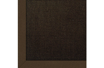 Astra Sisal-Teppich Salvador choco mit Astracare 200 cm x 200 cm