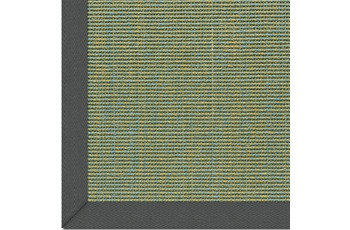 Astra Sisalteppich, Salvador, Col. 36 blau-grün 65 cm x 140 cm