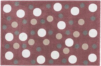 Astra Teppich Bambica Design 171, Farbe 008 Kreise 120 x 170 cm