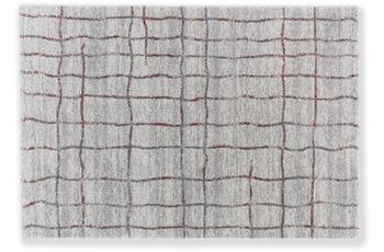 Astra Teppich Savona D. 193 C. 017 Gitter Aubergine 160x230 cm