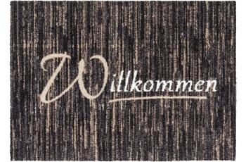 Astra Türmatte Felicido D. 803 C. 046 Willkommen schwarz 50x70 cm