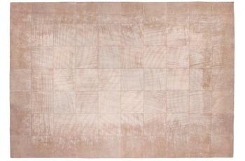 Barbara Becker Lederteppich b.b Vintage creme 140x200 cm