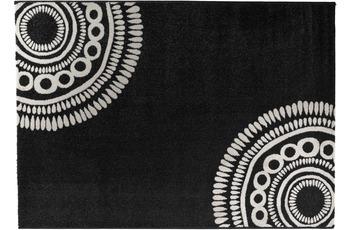 Barbara Becker Teppich b.b Balance schwarz weiß 160cm x 230cm