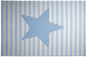 bellybutton Teppich BB-4214-04 My little Star blau 60x100