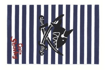 Capt'n Sharky Kinder-Teppich, Käpt'n Sharky und das Säbelrasseln, Öko-Tex zertifiziert