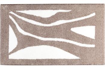 clarissa , Badteppich, Patria, torf/ jasmin meliert, rechteckig, 18 mm Florhöhe