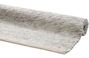 DEKOWE Handwebteppich Amodian grau 120 x 170 cm