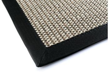 DEKOWE Teppich Brasil, schwarz