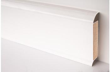 Döllken EP 60/ 13 Design-Kernsockelleiste für Designbeläge 1013(0117) weiß UNI 5000 cm