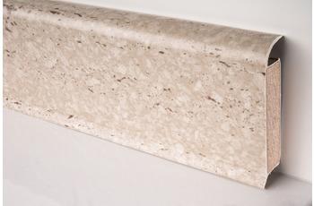 Döllken EP 60/ 13 Design-Kernsockelleiste für Designbeläge 2342 travertin 250 cm