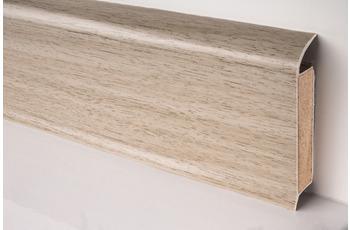 Döllken EP 60/ 13 Design-Kernsockelleiste für Designbeläge 2370 silbereiche 250 cm