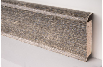 Döllken EP 60/ 13 Design-Kernsockelleiste für Designbeläge 2486 smoked oak light grey 250 cm