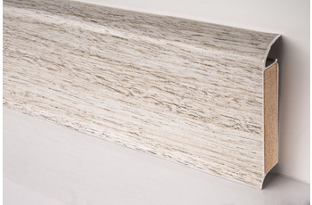 Döllken EP 60/ 13 Design-Kernsockelleiste für Designbeläge 2562(W562) pinie weiß  250 cm