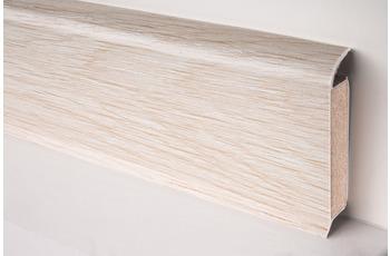 Döllken EP 60/ 13 Design-Kernsockelleiste für Designbeläge 2629 alba oak snow 515 cm