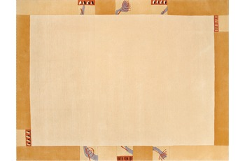 Nepalteppich Dolpa 160 beige 90 cm x 160 cm