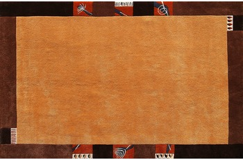 Nepalteppich Dolpa 160 dunkelgold 300 x 400 cm