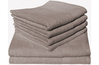 Dyckhoff Bio-Frottierserie Planet taupe