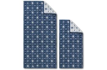 Dyckhoff Frottierserie Blue Island blau Sterne