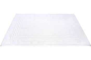 Dyckhoff Frottier-Badvorleger Siena weiß 50 x 75 cm, 3 Stück