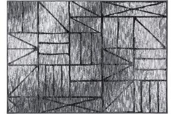 Einfach Schöner Teppich Ben, grau