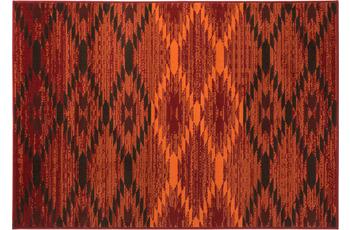 Einfach Schöner Teppich Leo, rot 133 x 190