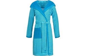"ESPRIT Bademantel ""Striped Hoody"" turquoise"