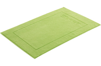 "ESPRIT Badeteppich ""Solid"" apple green 60 x 90 cm"