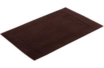 """ESPRIT Badeteppich """"Solid"""" chocolate 60 x 90 cm"""