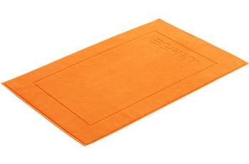 """ESPRIT Badeteppich """"Solid"""" mandarin 60 x 90 cm"""