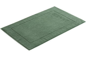 "ESPRIT Badeteppich ""Solid"" moss green 60 x 90 cm"