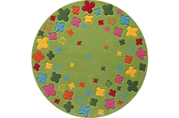 ESPRIT Kinder-Teppich, Bloom Field ESP-2980-02 grün, Öko-Tex 100 zertifiziert