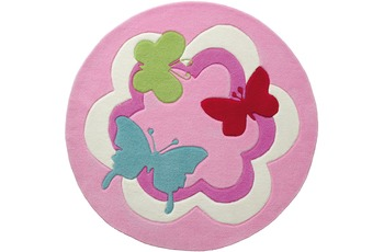 ESPRIT Kinderteppich Butterfly Party ESP-3813-01 100cm x 100cm
