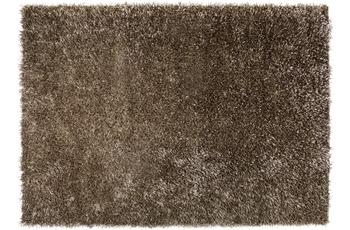 ESPRIT Hochflor-Teppich Cool Glamour ESP-9001-05 braun 90 x 160 cm