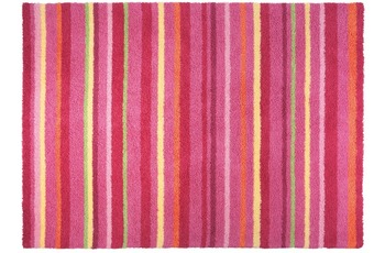 ESPRIT Teppich Funny Stripes ESP-2845-01 rot 90 x 160 cm