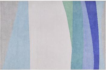 ESPRIT Kurzflor-Teppich CURVES ESP-10018-01 blau