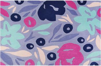 ESPRIT Kurzflor-Teppich Flower Capsul ESP-4321-02 blau